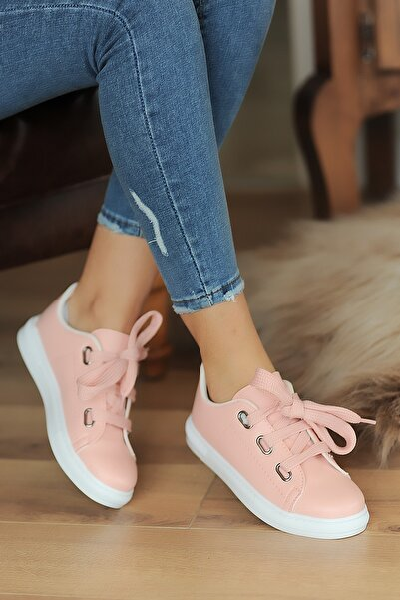 Pembe Potin Kadın Pudra Sneaker