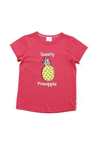 Wonder Kids Fuşya Kız Çocuk Tişört