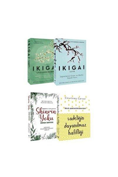 İNDİGO Kişisel Gelişim Seti Ikigai - Uygulama Rehberi Sadeliğin Dayanılmaz Hafifliği - Shinrin-yoku