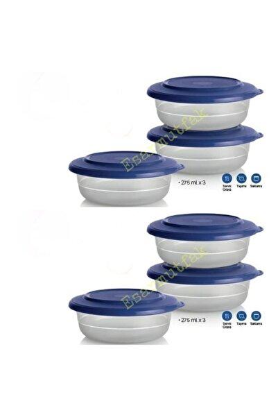 Tupperware 6lı Kristalin Kase Kahvaltılık 275ml