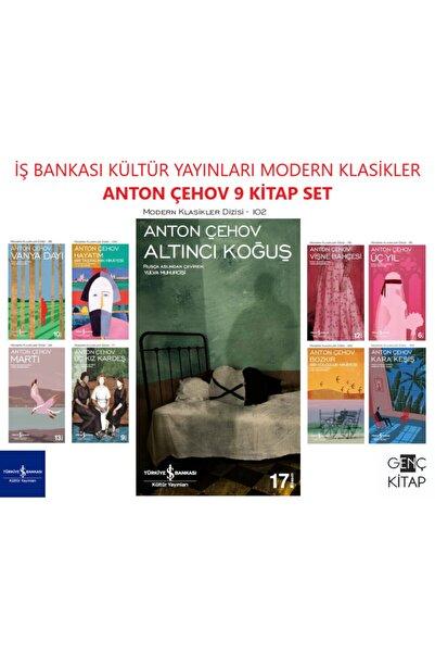 İş Bankası Kültür Yayınları Iş Bankası Anton Çehov 9 Kitap Set Modern Klasikler Dizisi Martı-üç Kız Kardeş-altıncı Koğuş