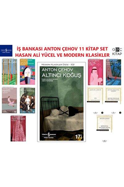 İş Bankası Kültür Yayınları Iş Bankası Anton Çehov 11 Kitap Set Hasan Ali Yücel Klasikleri Altıncı Koğuş-vişne Bahçesi
