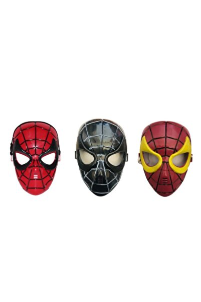 Misalanka Örümcek Adam Maske 3 Adet