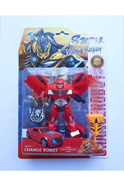 Beyazkuş Transformers Araba Robot