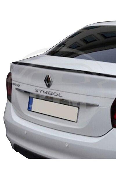 BTM OTOMOTİV Renault Symbol 2013 Sonrası Bagaj Üstü Spoiler Piano Black