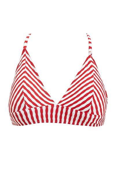 DeFacto Kadın Red Çizgili Bikini Üstü S4046AZ20SM
