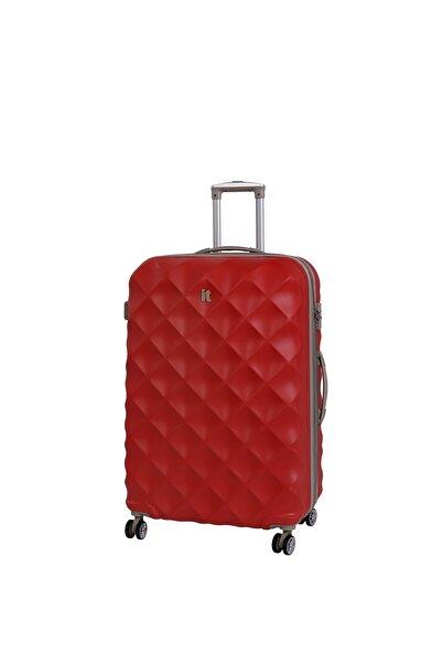 IT LUGGAGE Unisex Kırmızı Kabin Boy Abs Valiz 02126