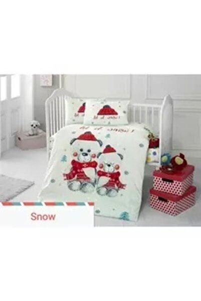 CLK Tekstil Patik Home Bebek Nevresim Takımı Snow