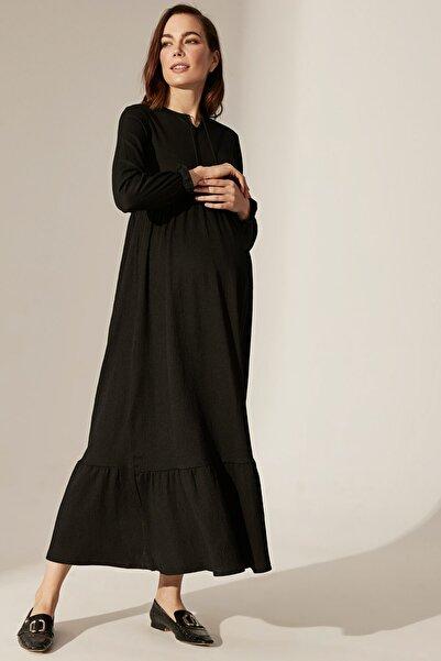 LC Waikiki Kadın  Yeni Siyah  Elbise 0Sn274Z8