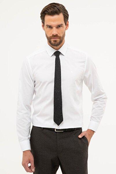 Pierre Cardin Erkek Beyaz Slim Fit Basic Gömlek G021GL004.000.1179498