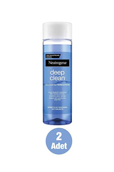 Neutrogena Deep Clean Göz Makyajı Temizleyicisi 125 Ml X 2 Adet