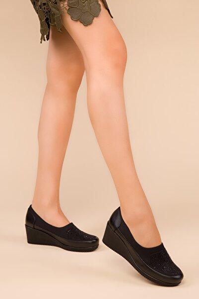 SOHO Siyah Kadın Casual Ayakkabı 15273