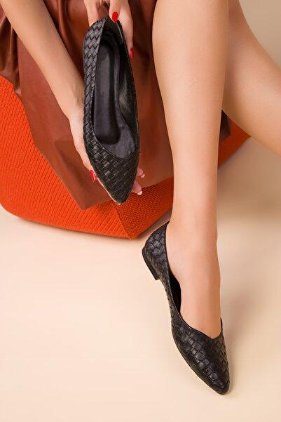 SOHO Siyah Kadın Babet 15260
