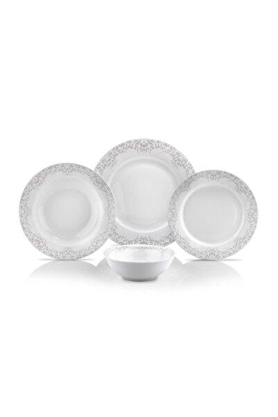 Schafer Ottomane Yemek Takımı - 24 Parça - Beyaz