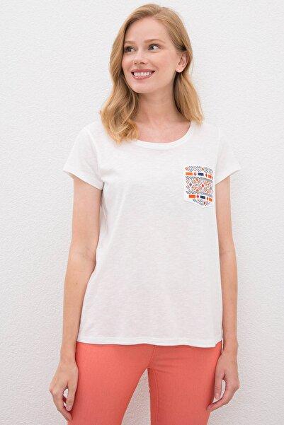 U.S. Polo Assn. Kadın T-Shirt G082SZ011.000.1087762