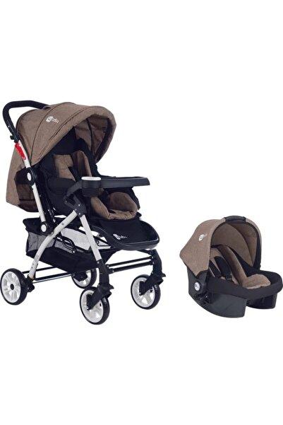 4 Baby Bebek Beyaz Travel Sistem Araba ve Puset