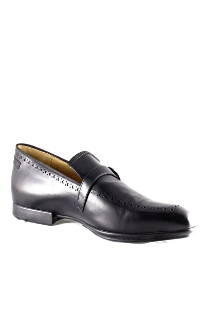 Cesare Paciotti Erkek Siyah Loafer Ayakkabı 41306