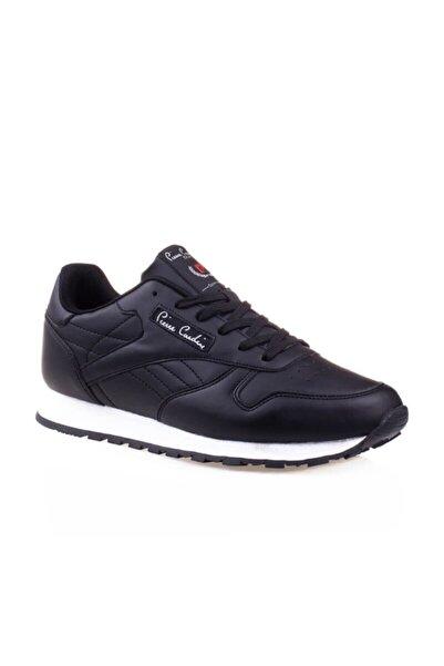 Pierre Cardin Classıc Erkek 4 Mevsim Siyah Beyaz Spor Ayakkabı