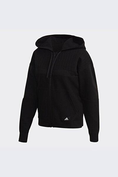 adidas Kadın Günlük Giyim Eşofman Üstü W Knıt V Hoodie Fs2402