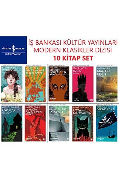İş Bankası Kültür Yayınları Iş Bankası Modern Klasikler Dizisi 10 Kitap Set Franz Kafka-jack London-jules Verne