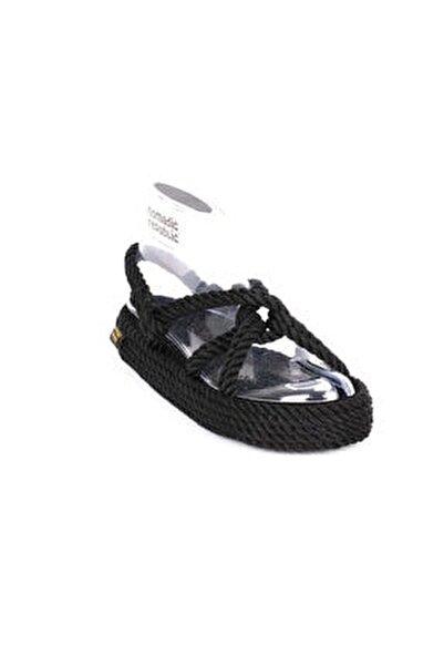 Bora Bora Platform Kadın Kalın Taban Ip Sandalet