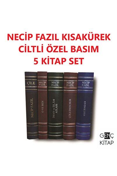 Büyük Doğu Yayınları Necip Fazıl Kısakürek Ciltli Özel Basım 5 Kitap Set Çile-çöle Inen Nur-o Ve Ben-ulu Hakan