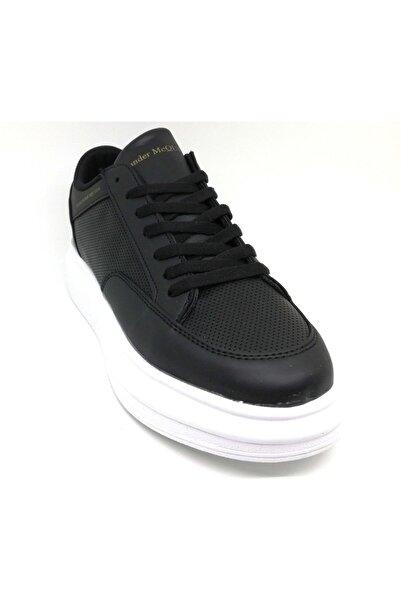 Casual Erkek  Siyah Beyaz Spor Ayakkabı