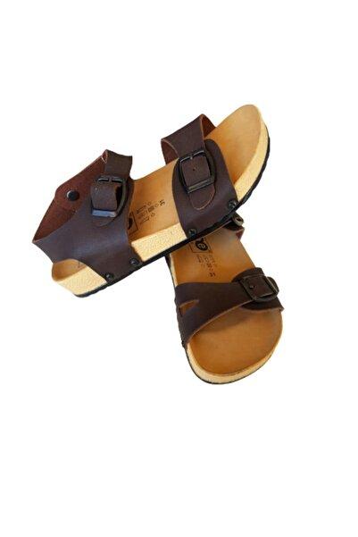 Soobe Erkek Çocuk Kahverengi Sandalet