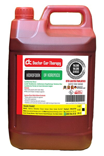 Doctor Therapy Doctor Car Therapy Oto Lastik Parlatıcı 5 Litre Hidrofobik