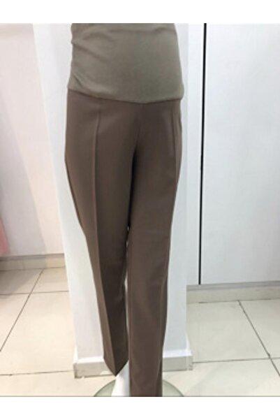 Bien Kadın Kahverengi Hamile Pantolon