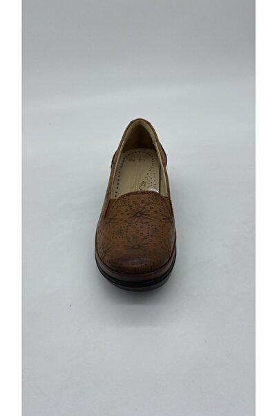 Riccardo Colli Kadın Taba Deri Günlük Ayakkabı