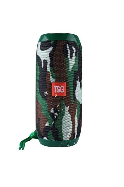 TG Extra Bass Bluetooth Hoparlör Taşınabilir Kablosuz Ses Bombası Kamuflaj