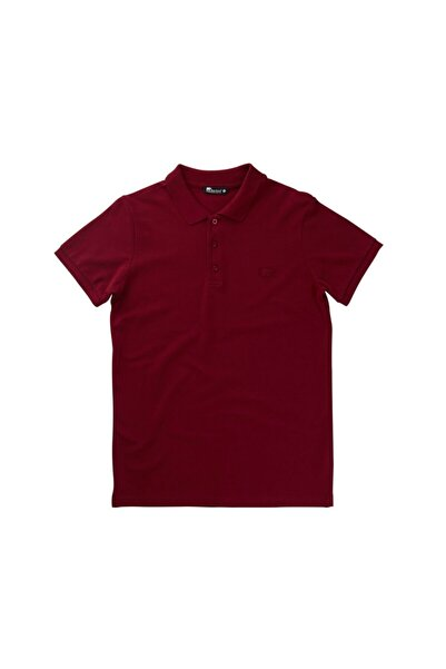 Bad Bear Erkek Bordo Polo T-shirt