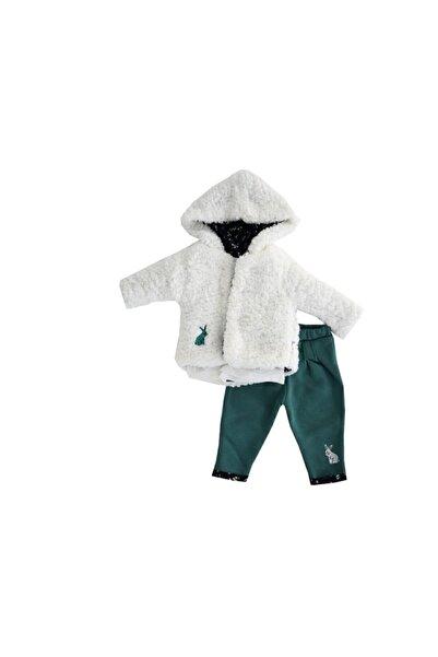 Miniworld Kız Bebek Beyaz  Alt-Üst Takım