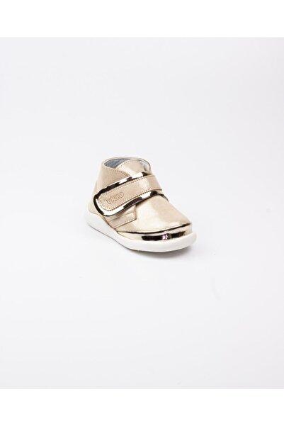 Vicco 915. E20k.046 Phylon Altın Deri Ilkadım Ayakkabısı(19-21) Altın-21