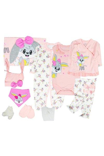 İmaj Time Yeni Koleksiyon Kız Bebek 10 Parça Hastane Çıkışı Seti 1001043