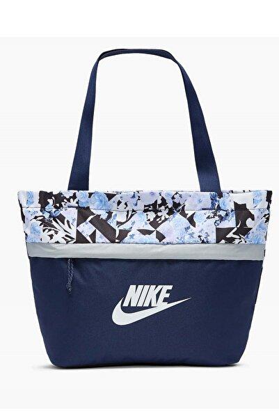 Nike Y Tanjun Tote - Aop Unisex Çanta Cw9268-410-mavı