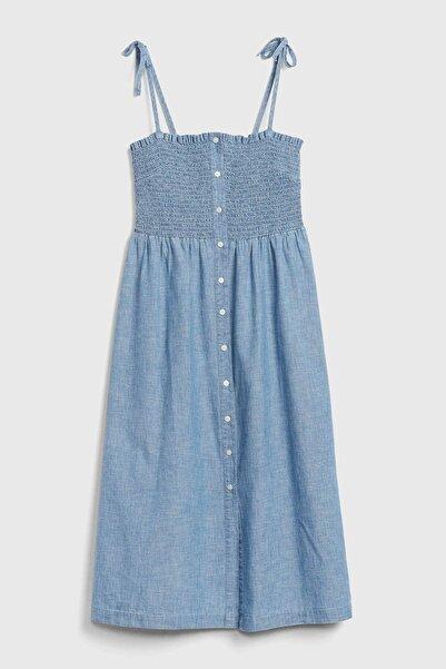 GAP Askılı Denim Elbise 592680