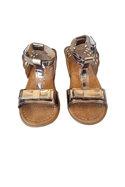 Soobe Kız Çocuk Kahverengi Topuk Detaylı Sandalet