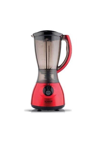 Schafer Blendy Sürahi Blender 2 Parça Kırmızı