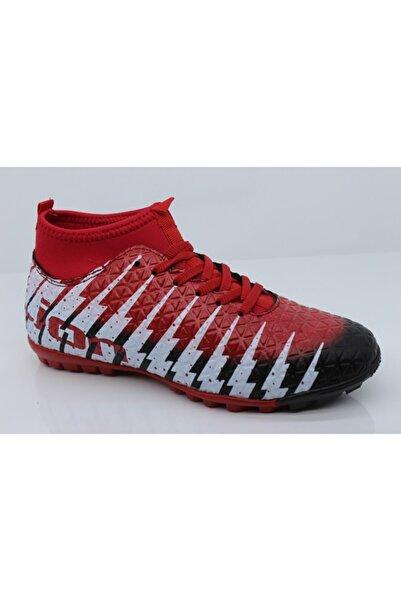 Lion Erkek Kırmızı Halı Saha Ayakkabısı 1452