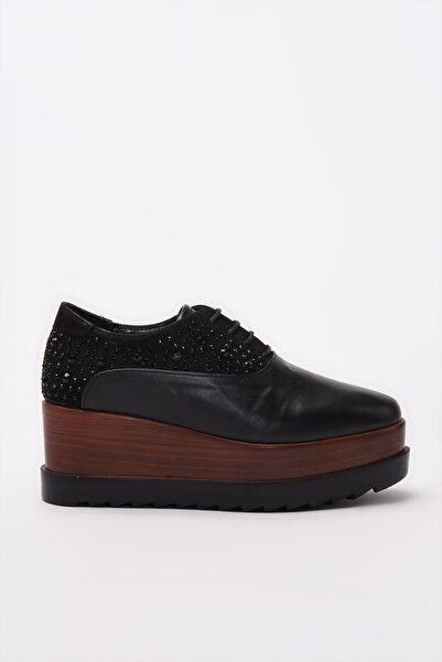 Derimod Siyah Kadın Ayakkabı