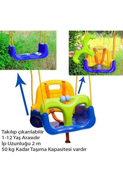 Went Saban Mavi Ev,bahçe ( Balkon Vs ) Korumalı Çocuk Salıncağı