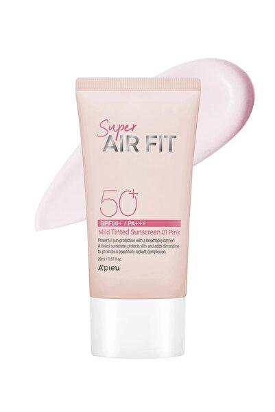 Missha Ultra Hafif Güneş Koruyucu A'pıeu Super Airfit Mild Sunscreen Pink Spf50+/pa++8809643534529