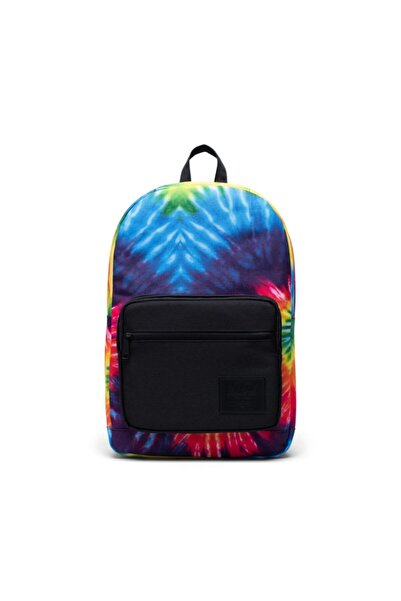 Herschel Supply Co. Unisex Mavi Sırt Çantası Pop Quiz Rainbow Tie Dye