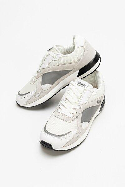 VERSACE JEANS COUTURE Erkek Beyaz Linea Fondo Runlight Dis. Spor Ayakkabı