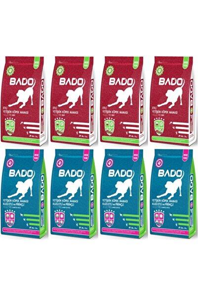 Bado Yetişkin Köpek Maması Karma Paket 500 gr x 8 Yeme Garantilidir.