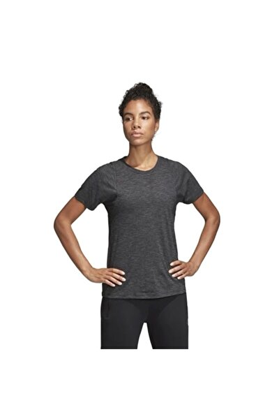 adidas W ID WINN CN Siyah Kadın Kısa Kol Tişört 100575791