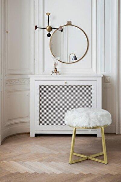 Paris Beyaz Puf