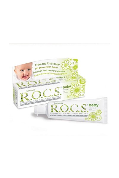 R.O.C.S. Baby 0-3 Yaş Diş Macunu Papatya Özlü 45g
